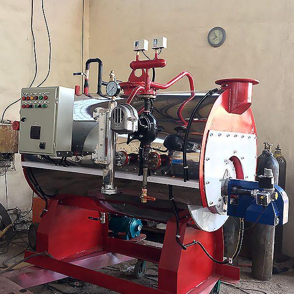 نانو کارواش بخار سوپر فایر تیوپ 510 لیتری