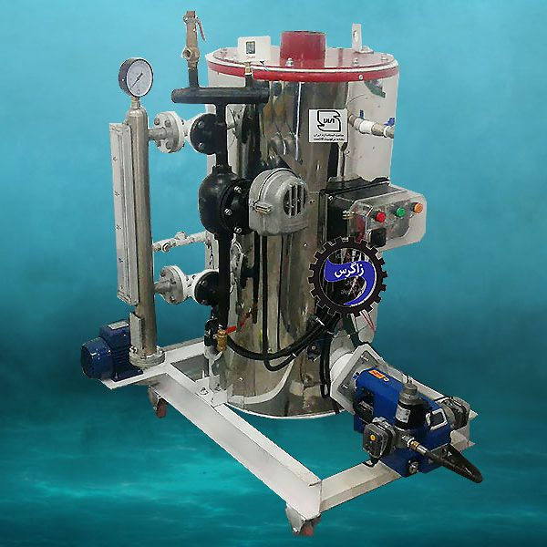 نانو کارواش بخار سوپر فایر تیوپ 100 لیتری