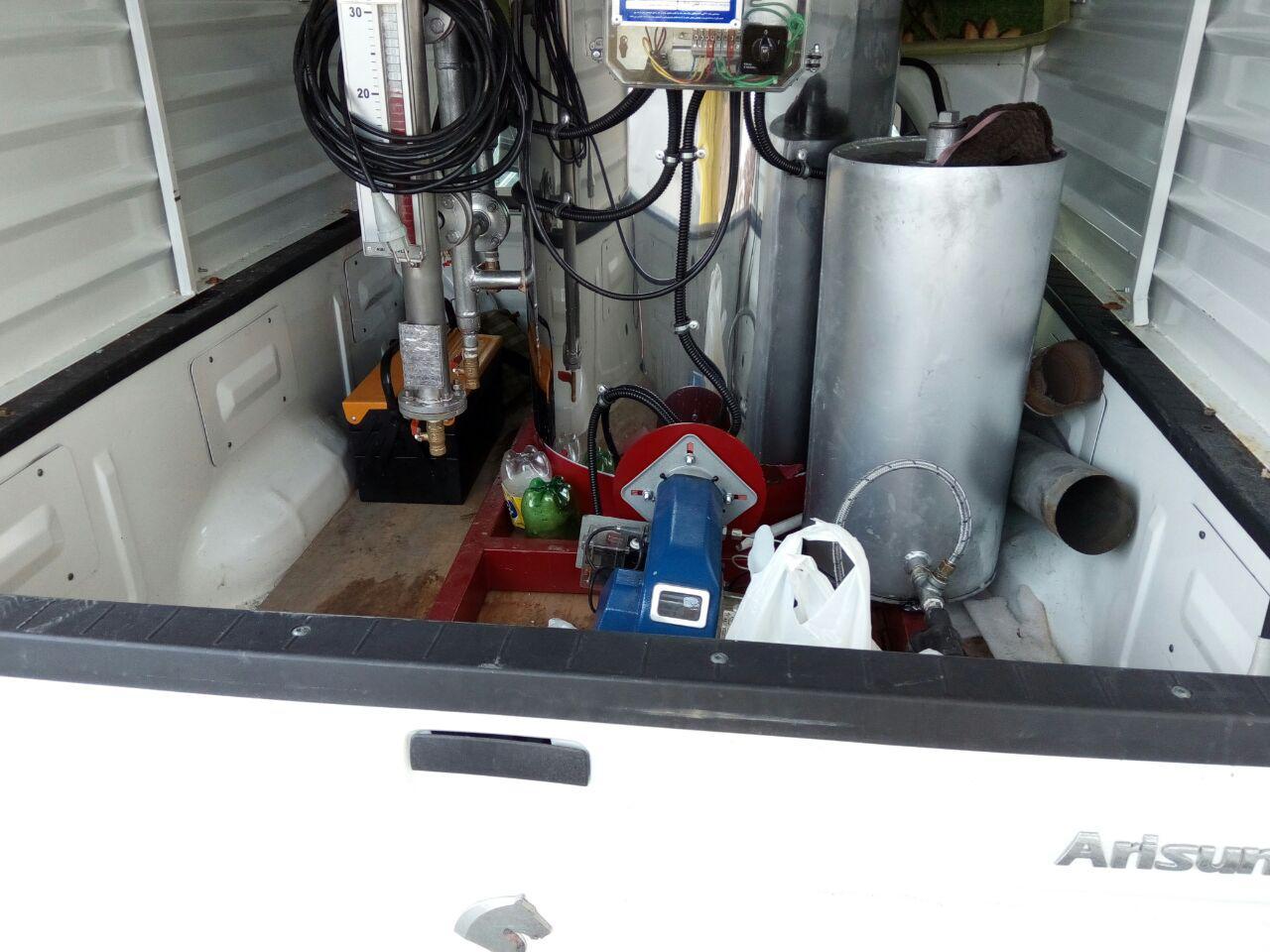 کارواش نانو بخار سیار فایر تیوپ 150